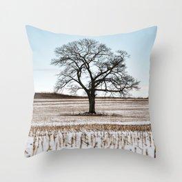 Last Season's Crop Throw Pillow