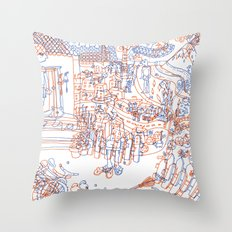 Luka and the Fire of Life Throw Pillow