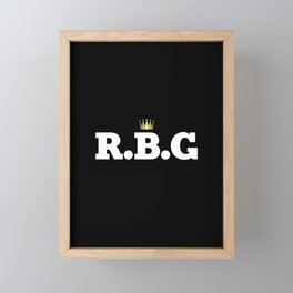 RBG Framed Mini Art Print