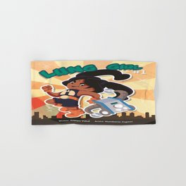 Lung Girl Cover Hand & Bath Towel
