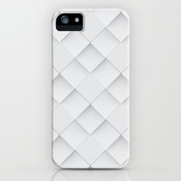 Losange Blanc iPhone Case