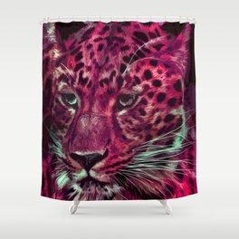 Jaguar 025 Shower Curtain