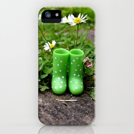 Little wellies iPhone Case