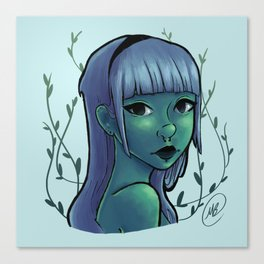 Cool Ivy Canvas Print