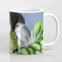 thorin Mugs featuring Thorin by Lily Art