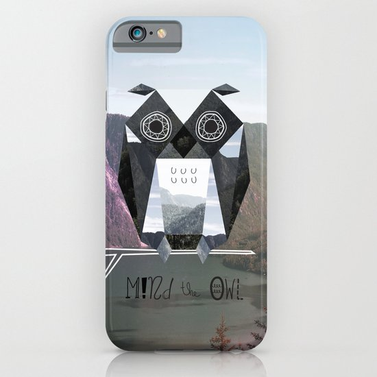 Mind the Owl! iPhone & iPod Case