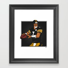 Big Ben - Steelers QB Framed Art Print