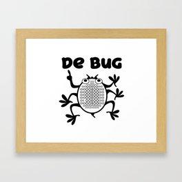 Computer Programmer's Nemesis Framed Art Print