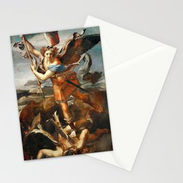 Saint Michael and the Devil, Stationery Cards