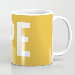 OPE Mustard Coffee Mug