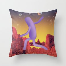 J u m p U p Throw Pillow