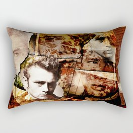Jame Dean - Grunge Style - Rectangular Pillow
