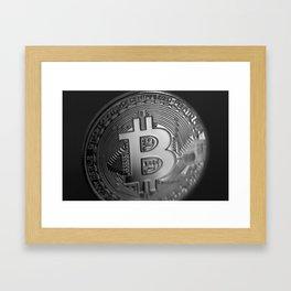 Bitcoin 11 Framed Art Print