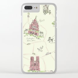 Paris, Anytime Clear iPhone Case