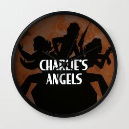 Charlies angels Wall Clock
