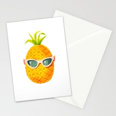 Mrs. Pineapple Stationery Cards