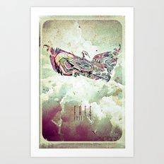 Free Yourself Eagle Art Print