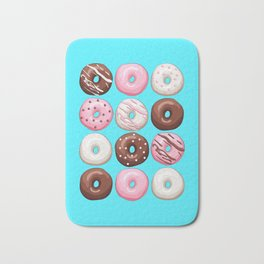 Donuts Party Bath Mat