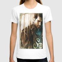 derek hale T-shirts featuring Derek Hale * Tyler Hoechlin  by AkiMao