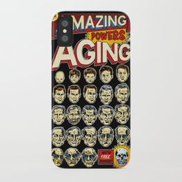 The Amazing Powers of Aging! iPhone Case