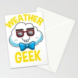 Meteorologist Meteorology Weatherman Weather Geek Stationery Cards