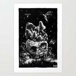 Mushy Lake Art Print