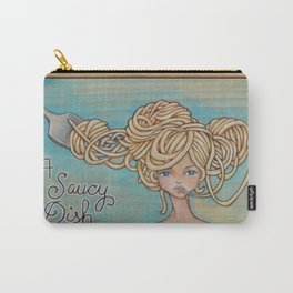 A Saucy Dish Carry-All Pouch