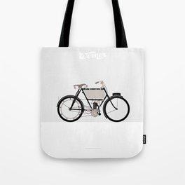 1901 Werner La Motocyclette Tote Bag