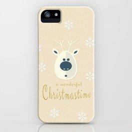 Christmas motif No. 4 iPhone Case
