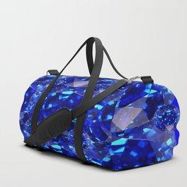 BLUE SAPPHIRES GEM BIRTHSTONE Duffle Bag