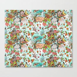 Fairy Tale Tapestry Canvas Print