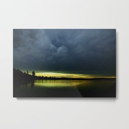 Mother Nature - Setting the mood Metal Print