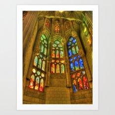 Sagrada Família, Barcelona, Spain Art Print