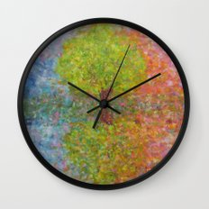 Self-knowledge in the drop of water Wall Clock