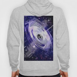 In the center of a galaxy. Hoody