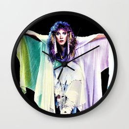 Stevie Nicks Music pop Canvas Poster UNFrame, Poster Print, Wall Wood, Wall Clock Wall Clock
