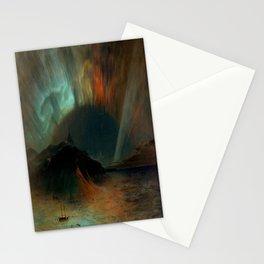 Aurora Borealis by Frederic Edwin Church Stationery Cards