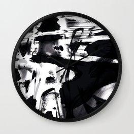 Pareidolia – Hidden faces part 2 Wall Clock