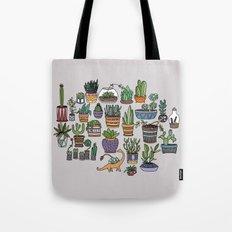 Succulent Party Tote Bag