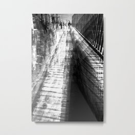 """Fear is the highest fence."" -- Dudley Nichols Metal Print"