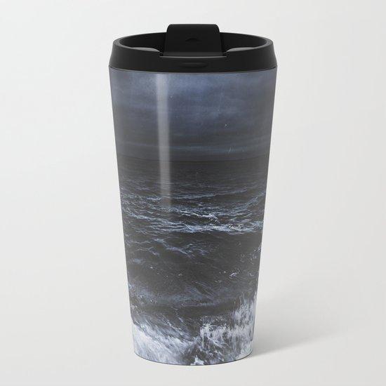 Lost in the sea Metal Travel Mug
