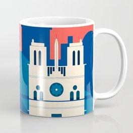 Abstract Paris Coffee Mug