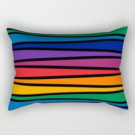 Spectrum Game Board Rectangular Pillow
