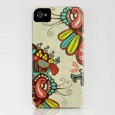 Harmony birds iPhone (4, 4s) Slim Case