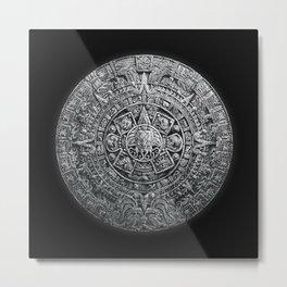 Aztec Cthulhu Metal Print