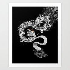 Unleashed Imagination Art Print