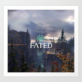 Fated - Environment Art Print