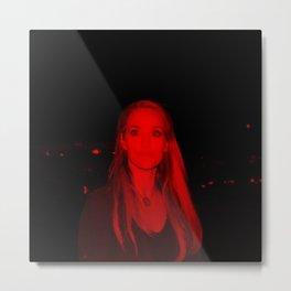 Elizabeth Berkley - Celebrity (Photographic Art) Metal Print