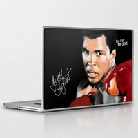 ali gulec Laptop & iPad Skins featuring ALI 4 by YBYG