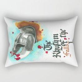 The rhythm of the falls Rectangular Pillow